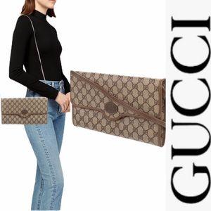 Vintage Gucci GG SupCanvas Crossbody/clutch Bag